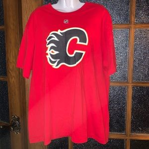 Calgary Flames T-shirt - Sz XL